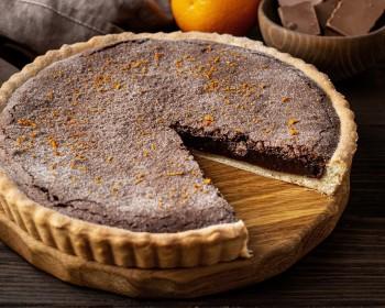 Шоколадный с цедрой апельсина